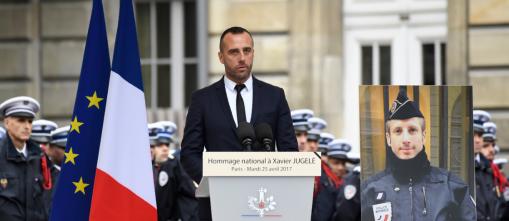 Discours d'Etienne Cardiles lors de la cérémonie hommage à son compagnon Xavier Jugelé